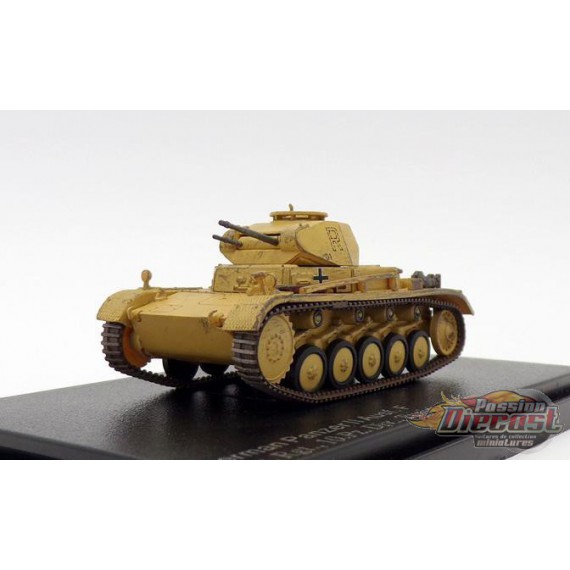 German Panzer II Ausf. F 7.Pz. Rgt., 10.Pz. Div., Tunisia 1943, Hobby Master 1/72 - HG4607 -  Passion Diecast