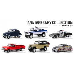 Anniversary Collection Series 10  Assortment  1-64 greenlight 28020  - Passion Diecast