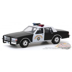Chevrolet Caprice - California Highway Patrol 90th - Anniversary Collection 10  1-64 greenlight - 28020 - Passion Diecast