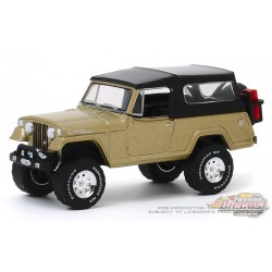 1966 Kaiser Jeep Jeepster Commando - Anniversary Collection 10,  1-64 greenlight - 28020 E  - Passion Diecast