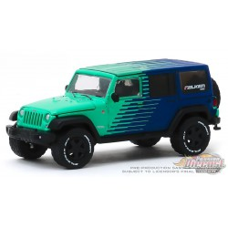 2017 Jeep Wrangler Unlimited - Falken Tires -  (Hobby Exclusive) 1/64 Greenlight - 30124 -  Passion Diecast