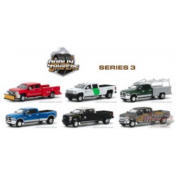 Dually Drivers Series 3  assortment  - 1-64  Greenlight  - 46030  -  Passion Diecast