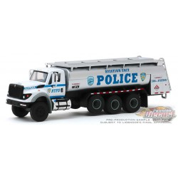 2018 International WorkStar Tanker Truck - NYPD Police Dept - Aviation Unit -  SD Trucks 9 - Greenlight  1.64 - 45090 A