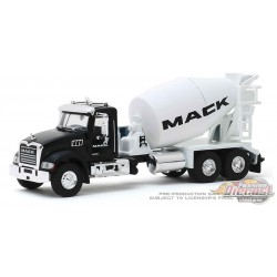 2019 Mack Granite Cement Mixer - Mack Services Show Truck -  SD Trucks 9 - Greenlight  1.64 - 45090 B - Passion Diecast