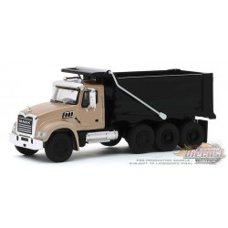 2019 Mack Granite Dump Truck in Bronze and Black -  SD Trucks 9 - Greenlight  1.64 - 45090 C - Passion Diecast
