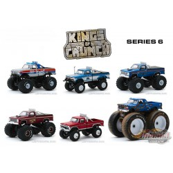 Kings of Crunch Series 6 -  Assortment  1-64 greenlight 49060  Passion Diecast
