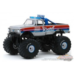 AM/PM Rocket - 1972 Chevrolet K-10 Monster Truck - Kings of Crunch  6 -  1-64 Greenlight 49060 A - Passion Diecast