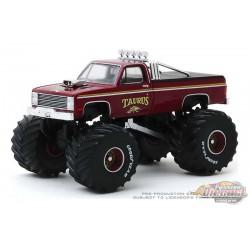 Taurus - 1986 Chevrolet K20 Monster Truck - Kings of Crunch  6 -  1-64 Greenlight 49060 D - Passion Diecast