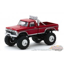Godzilla - 1974 Ford F-250 Monster Truck - Kings of Crunch  6 -  1-64 Greenlight 49060 E - Passion Diecast