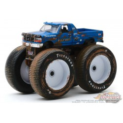 Bigfoot no 5 - 1996 Ford F-250 Monster Truck (Dirty Version) - Kings of Crunch  6 -  1-64 Greenlight 49060 F - Passion Diecast