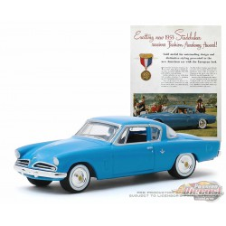 1953 Studebaker Commander -Vintage Ad Cars Series 2 - 1-64 Greenlight 39030 A - Passion Diecast