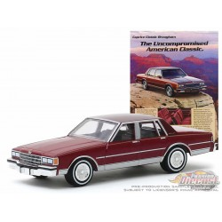 1986 Chevrolet Caprice Brougham  -  Vintage Ad Cars Series 2 - 1-64 Greenlight 39030 F -  Passion Diecast