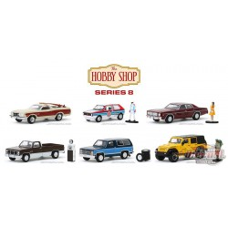 The Hobby Shop Series 8 assortment  1/64 Greenligh t-  97080 - Passion Diecast