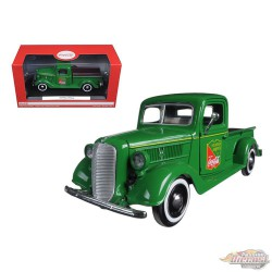 Ford Pickup 1937 Coca Cola Vert-Motor city Classics -1/24 - 424001 - Passion Diecast