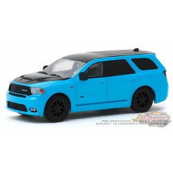 2018 Dodge Durango SRT in Blue Pearl Coat - Limited Edition '18 -  (Hobby Exclusive) 1/64 Greenlight - 30130 -  Passion Diecast