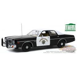 1975 Dodge Coronet  California Highway Patrol Greenlight 1/18  19075  Passion Diecast