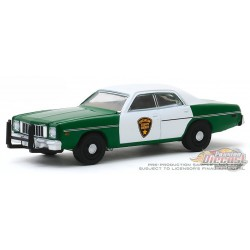 1975 Plymouth Fury - Chickasaw County Sheriff   -  (Hobby Exclusive) 1/64 Greenlight - 30141 - Passion Diecast
