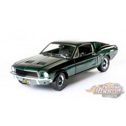 1968 Ford Mustang GT Fastback - Bullitt - Greenlight 1/18 - 12822 -Passion Diecast
