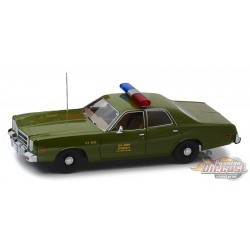 1977 Plymouth Fury  - US Army Military Police - The A-Team - Greenlight Artisan 19053 - Pasion Diecast