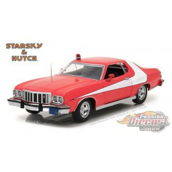 1976 Ford Gran Torino - Starsky and Hutch (TV Series) - Greenlight 1/24 - 84042 - Passion Diecast