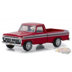 1977 Ford F-100 in Red - Kissimmee, 2018  - Mecum Auctions Series 3 - 1-64 Greenlight -  337170 F - Passion Diecast