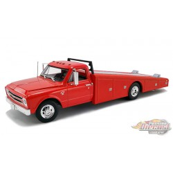 CHEVROLET C-30 RAMP TRUCK 1967  Red - ACME 1/18 - A1801702  -  Passion Diecast