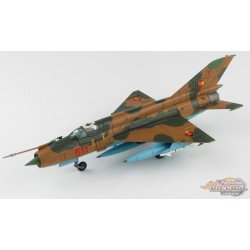 Mikoyan-Gurevich MiG-21MF Fishbed  East German Air Force JG-1, Red 511, Hobby Master 1/72 - HA0197 - Passion Diecast