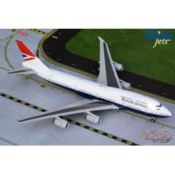 British Airways Boeing 747-400  Negus 100 years livery - G-CIVB - Gemini 200 - G2BAW841 -  Passion Diecast