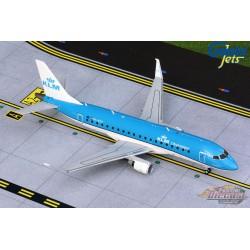 KLM City Hopper Embraer ERJ-175 - PH-EXU  -  Gemini 200 - G2KLM856  -  Passion Diecast