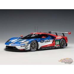 Ford GT LeMans  2016 Winner - J. Hand/D.Muller/S.Bourdais  no68 - AUTOART - 1/18 -  81611 - Passion Diecast
