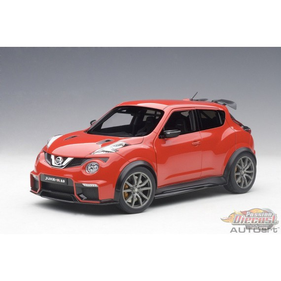 Nissan Juke R 2.0 Red  - AUTOart 1/18 - 77457  - Passion Diecast