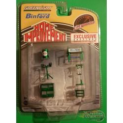 Binford  Shop Tool Set  Home Improvement - Greenlight 1/64 -  13175