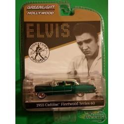 "1955 Cadillac Fleetwood Series 60 ""Pink Cadillac"" - Elvis Presley - GREEN MACHINE 1/64 - 44740 CGR"