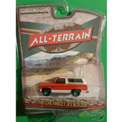 1981 Chevrolet K5 Blazer Orange  All-Terrain 9, 1-64 greenlight 35150 B
