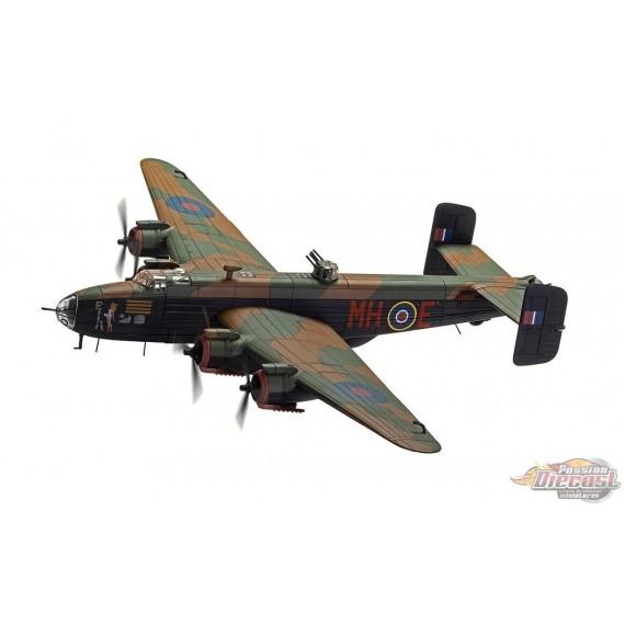 Handley Page Halifax B.MK III, RAF No.51 Expensive Babe, Snaith, England, March 1945 - Corgi 1/72 - AA37209 - Passion Diecast