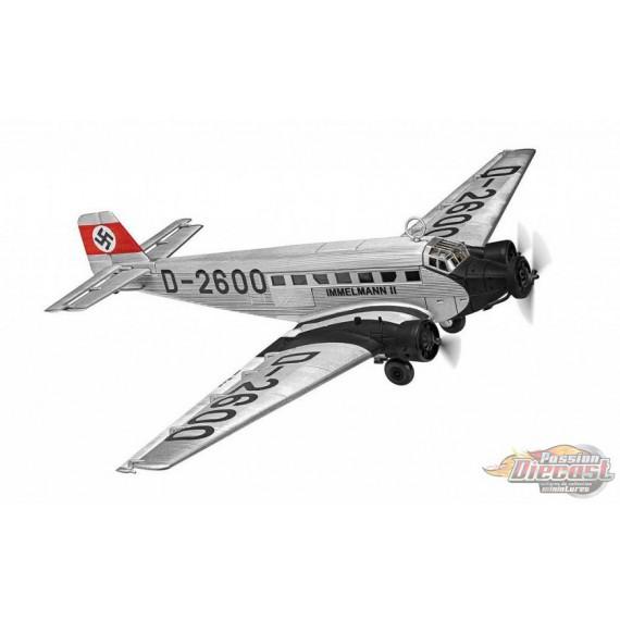 Junkers Ju 52 Luftwaffe, D-2600 Immelmann II, Adolf Hitler's personal transport 1936 - Corgi 1/72 - AA36909 - Passion Diecast