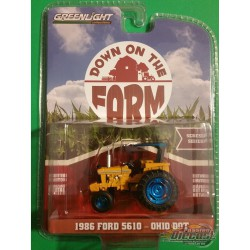 1986 Ford 5610 Tractor  - Down on the Farm Series 2 GREEN MACHINE 48020 DGR