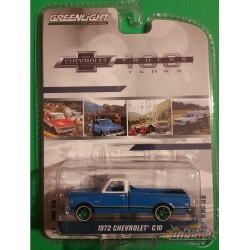 1972 Chevrolet C-10 100th Anniversaire -  Anniversary Collection Series 7 greenlight 27970-CGR 1-64
