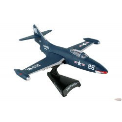 Grumman F9F Panther   Postage Stamp  1/100 -  PS5393-2 -  Passion Diecast
