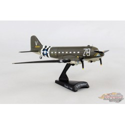 C-47 SKYTRAIN TICO BELLE USAAF 1/144 POSTAGE STAMP PS5558-3 - Passion Diecast