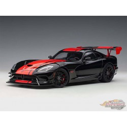 Dodge Viper GTS-R Commemorative Edition ACR 2017 Venon Black - Autoart 1/18 - 71732 - Passion Diecast