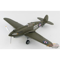 Curtiss P-40B Warhawk White 155, 15th PG, Wheeler Field,Hawaii, Dec 7, 1941 -  Hobby Master 1/48 HA9202 -  Passion Diecast
