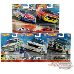 HOT WHEELS DOOR SLAMMERS CAR CULTURE SET Of  5 DIECAST CAR MODEL 1/64  - FPY86-956N - Passion Diecast