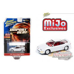 Acura  Integra 1997  - Johnny Lightning -  Mijo Exclusif  1:64 - JLCP7252  -  Passion Diecast