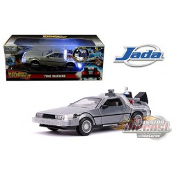 Delorean Time Machine with Light - Back to the Future Part II (1989) -  Jada 1/24 - 31468  -  Passion Diecast