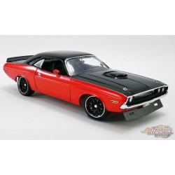 1970 Dodge Challenger R/T Street Fighter Rouge  - Acme 1/18- A1806014  - Passion Diecast
