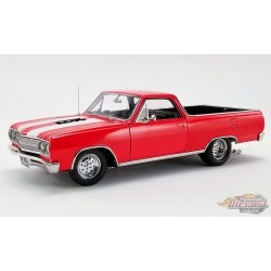 1965 Chevrolet El Camino Drag Outlaws Rouge - Acme 1/18- A1805411  - Passion Diecast