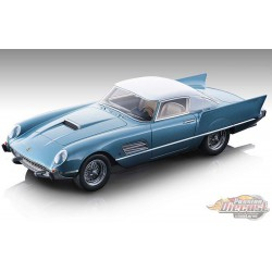 Ferrari 410 Super Fast (0483SA) 1956 Blue - TECNOMODEL  1/18 - TM18160C  - Passion Diecast