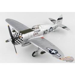 "Republic P-47D Thunderbolt ""Okie"" USAF, 84th FS, 78th FG, Duxford, May 1944 - Hobby Master 1/48 - HA8457  - Passion Diecast"