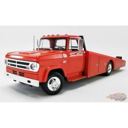 1970 Dodge D-300 Ramp Truck Rouge - Acme 1/18 - 1801900  - Passion Diecast